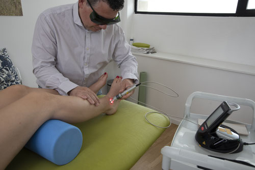 laserterapia caviglia-rho-bareggio